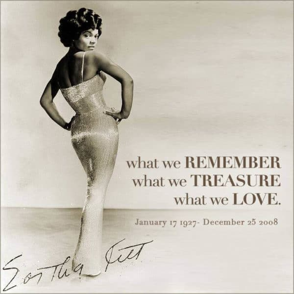 Eartha Kitt Merchandise and Exclusive Memorabilia