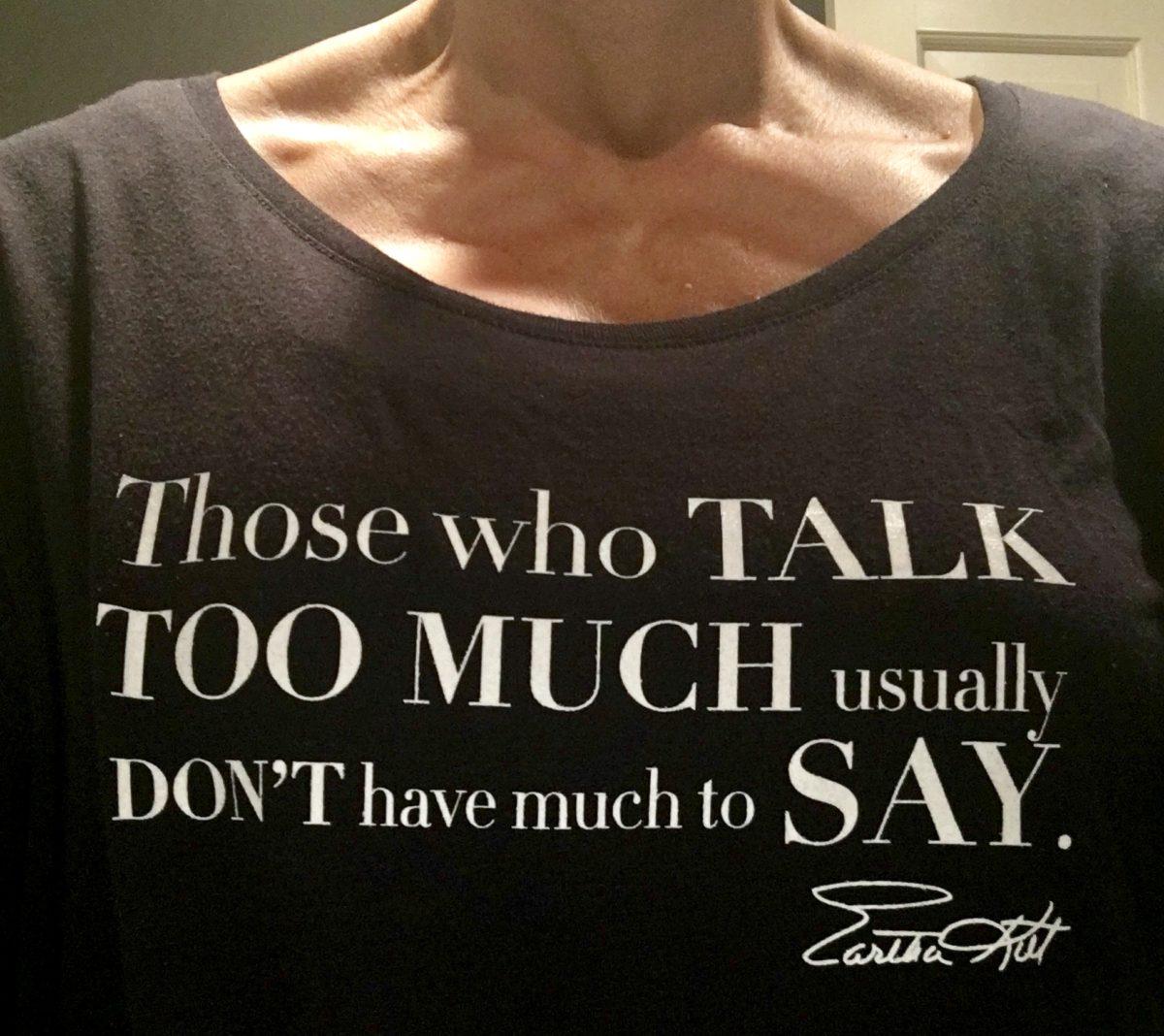 Eartha Kitt Kittism T-Shirt