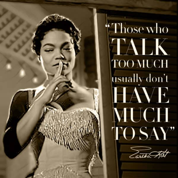 Eartha Kitt poster