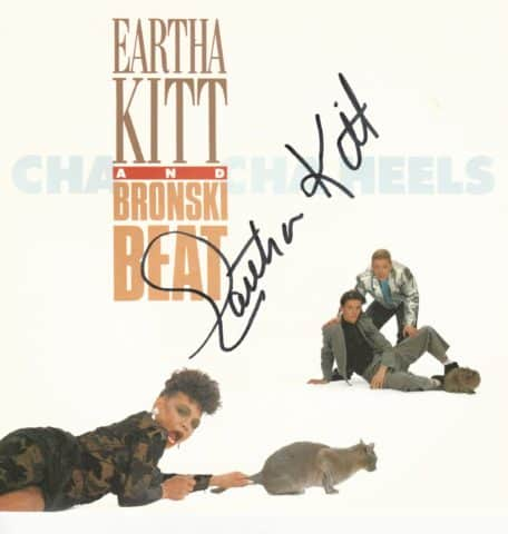 Eartha Kitt Cha Cha Heels 45rpm