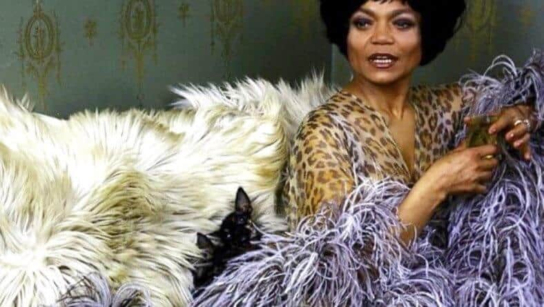 Eartha Kitt was born to Wear Purple