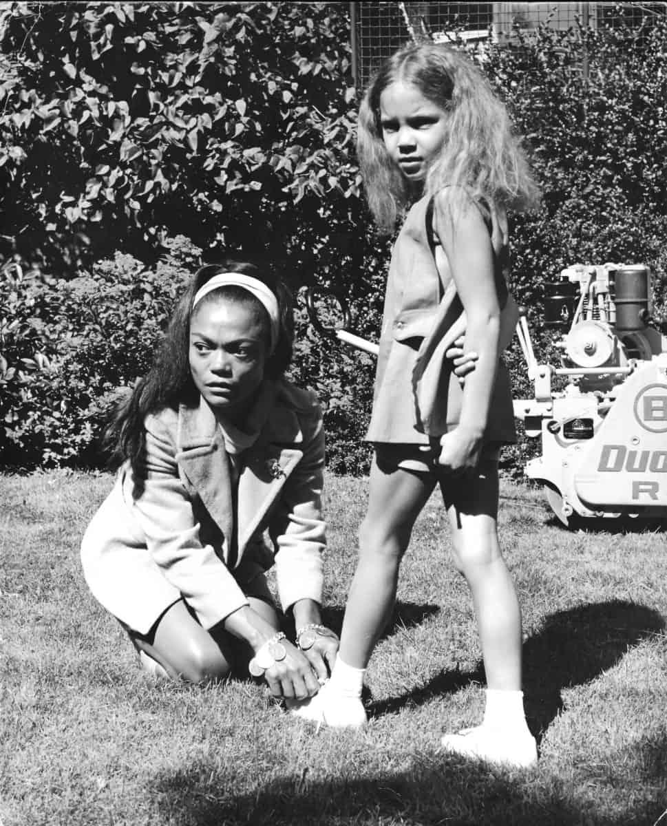 Eartha Kitt and daughter Kitt