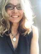 Kitt Shapiro wears her mother, Eartha Kitt's, heart