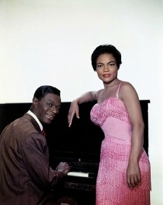 Eartha Kitt and Nat King Cole