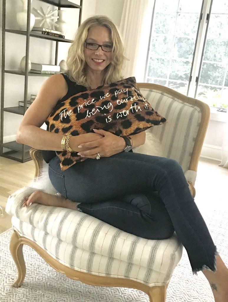 Eartha Kitt's daughter, Kitt Shapiro, at home