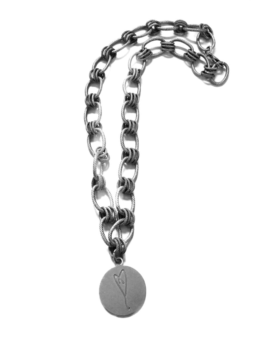 Here's To Life Heart Necklace flip side