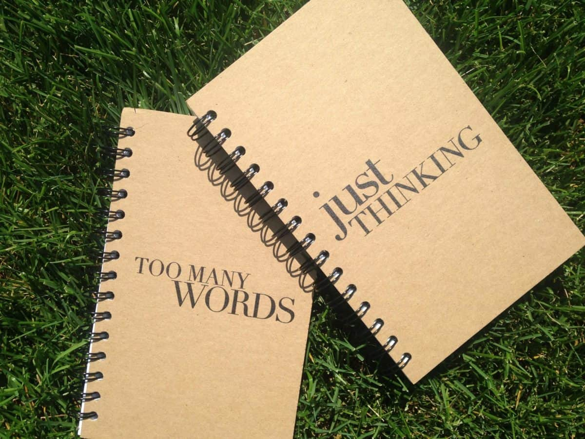 Simply Eartha journal notebooks set of 2