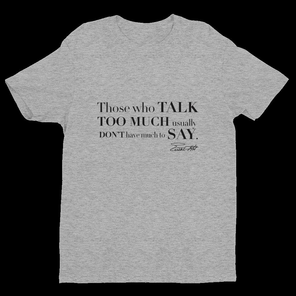 Eartha Kitt Kittism T-shirt in gray