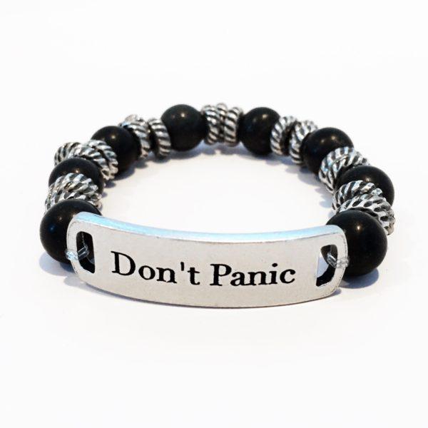 Simply Eartha Don't Panic bracelet for men