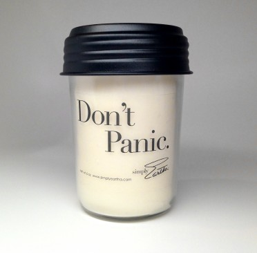 Simply Eartha Soy Candle - Don't Panic