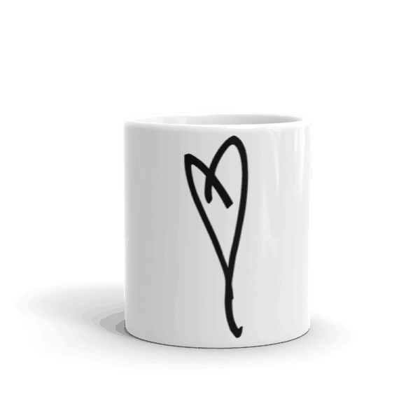Eartha Kitt's Heart Mug