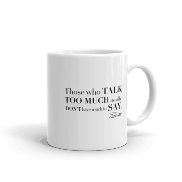 Eartha Kitt wisdom mug